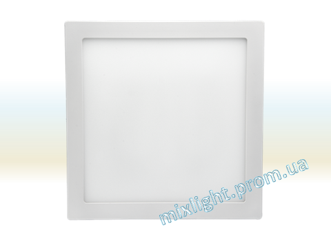 Светодиодный светильник 12W квадрат накладной 4500K Z-light