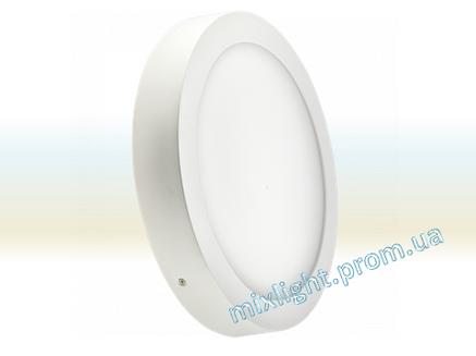 Светодиодный светильник накладной 18W круг 4500K Z-light, фото 2