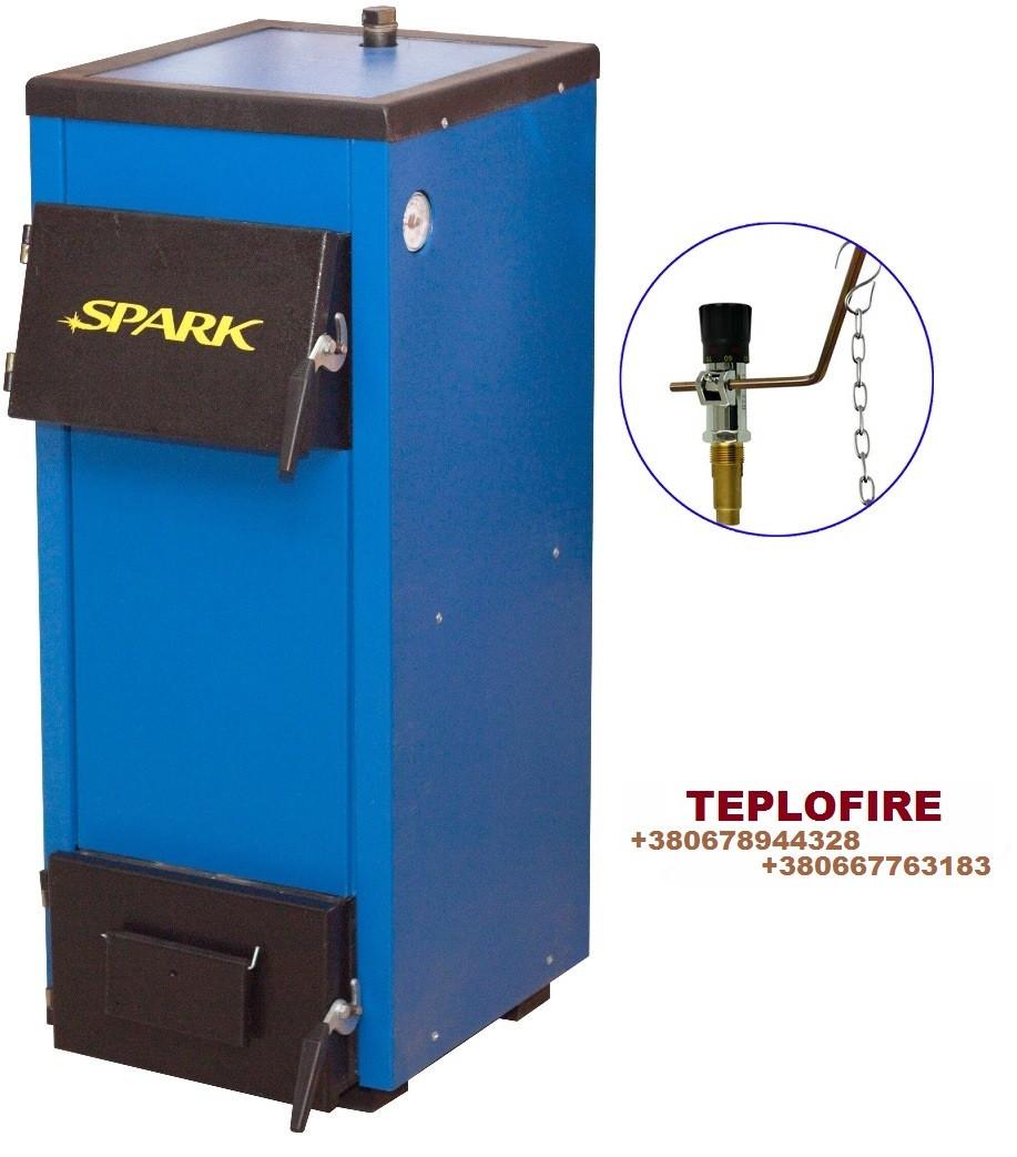 Котел Spark-Heat (Спарк Хит) мощностью 18 кВт с механическим регулятором тяги