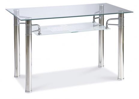 Кухонный стол стеклянный Signal RENI A 120