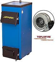 Дровяной котел Spark-Heat мощностью 18 кВт + блок управления и турбина
