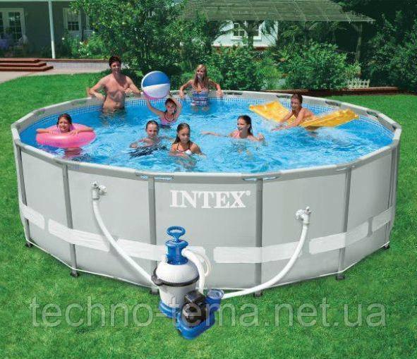 Бассейн каркасный INTEX  488х122 см (28324)