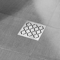 Душевой трап Ravak SN 501 105x105/50, крышка - нержавеющая сталь