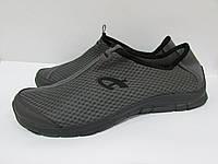 Мужские кроссовки Athletic (10785) серые код 0138А