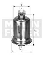 Фильтр топливный WK 614/26 X