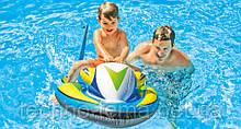 Детский надувной плотик Intex Скутер 117х77 см (57520)