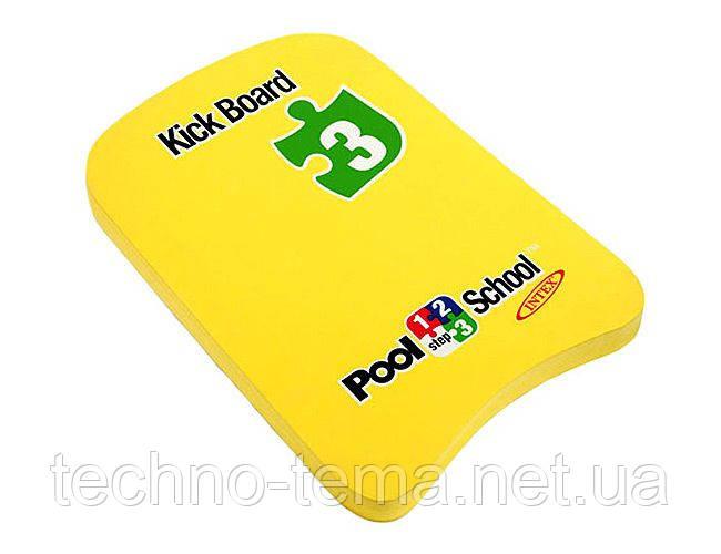 Доска для плавания  Klick board 42х30х12 см (59168)