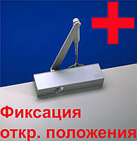 Доводчик дверей DORMA TS 71 RF (HO) ON/OFF EN2-4 білий з фіксацією (отключаемой)