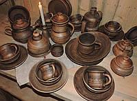 Набір авторського глиняного посуду Подарунковий