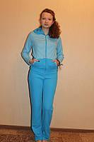 Комплект спортивный костюм женский из интерлока для дома иулицы
