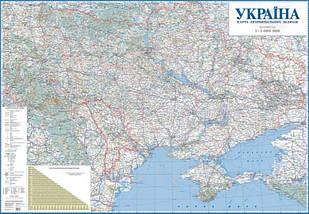 Авто Україна 1:1 000 000 Карта автомобільних шляхів, фото 3