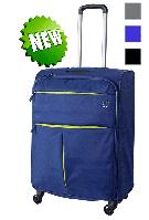 Средний чемодан текстильный Roncato Modo Air 5322 на 4-х колесах