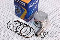 Поршень, кольца, палец к-кт 60cc 44мм STD (TATA) скутер 50-100 куб.см