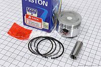 Поршень, кольца, палец к-кт 80cc 47мм STD (TATA) скутер 50-100 куб.см