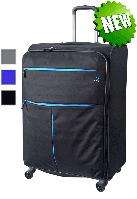 Большой чемодан текстильный Roncato Modo Air 5321 на 4-х колесах