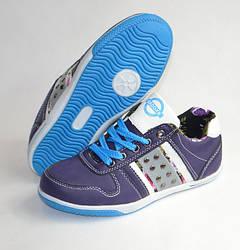 Спортивные туфли кроссовки для девочки 31-36р. фиолетовый Badoxx