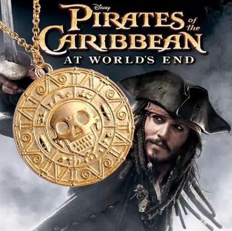 Кулон Пираты Карибского моря Pirates of the Caribbean