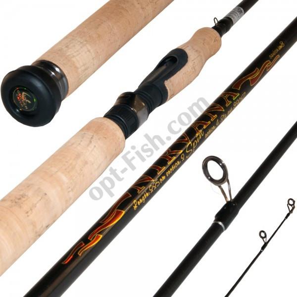 Спиннинговое удилище Golden Catch NIRVANA 2-10g, 2,1м