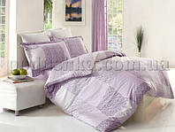 Постельное белье Altinbasak Moda lila Двуспальный евро комплект