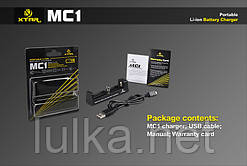 Зарядний пристрій Xtar MC1 0.5 A