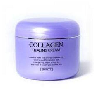 Питательный крем с коллагеном Jigott collagen healing cream, 100ml
