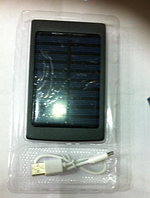 POWRBANK с зарядкой от солнечной батареи и LED панелью (SOLOR 4445)