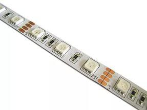 Лента Premium SMD 5050 RGB 30 диодов Негерметичная