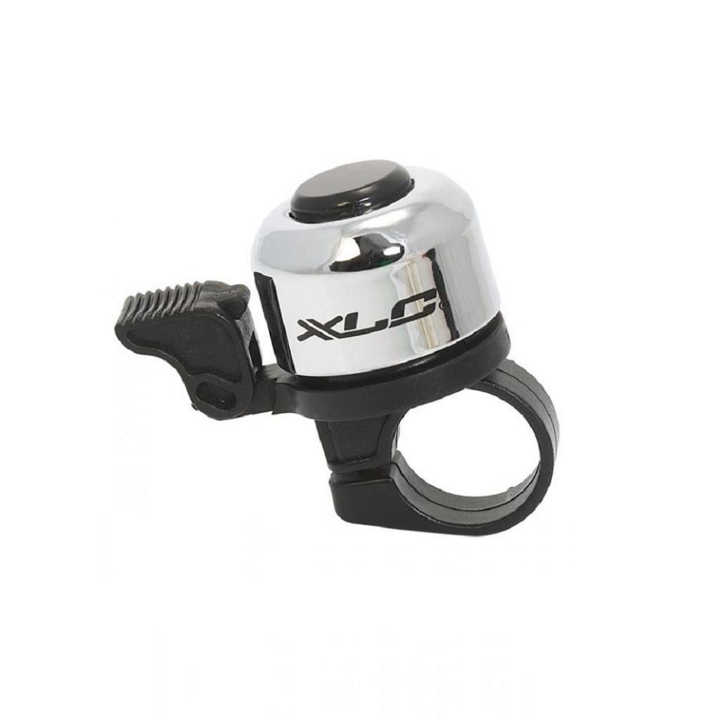 Звонок велосипедный XLC DD-M01, серебристый (ST)