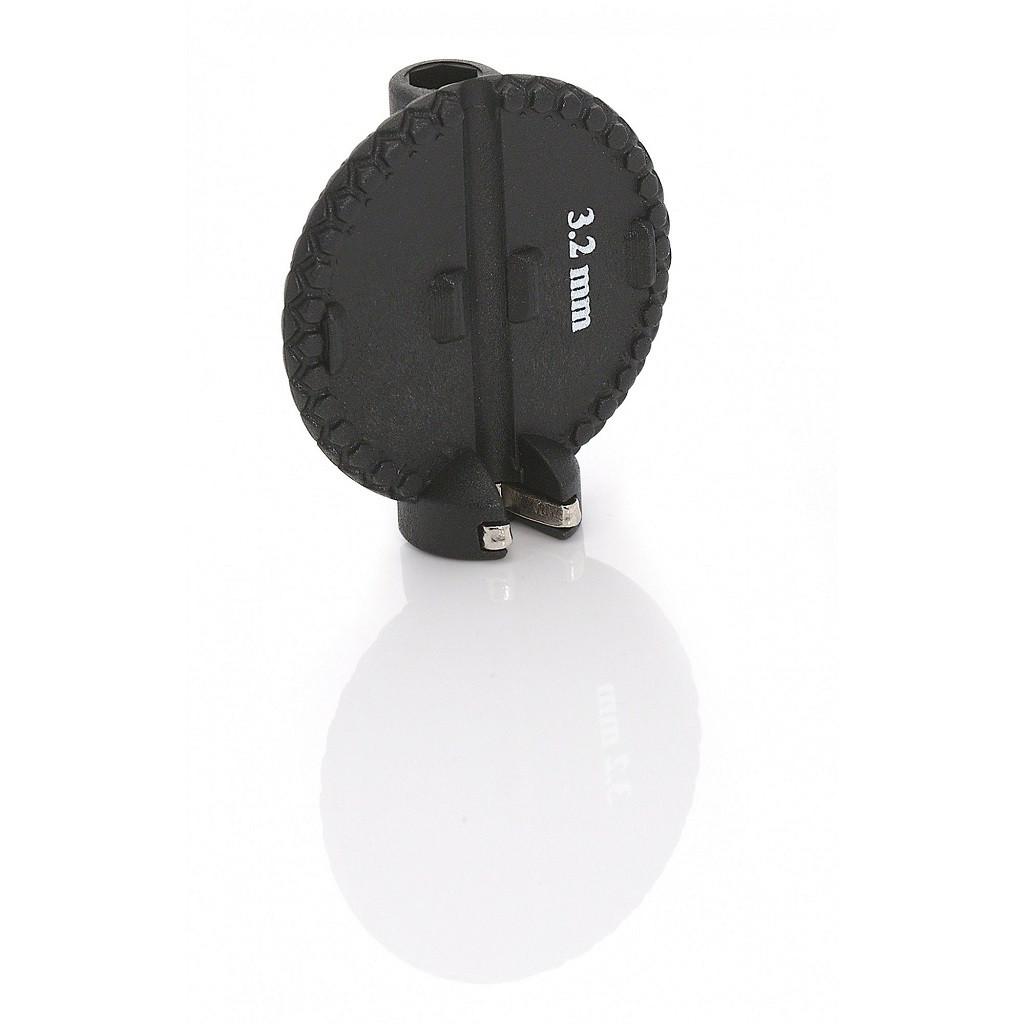 Ключ для спиц XLC TO-ND03, 3, 2мм, черный (ST)