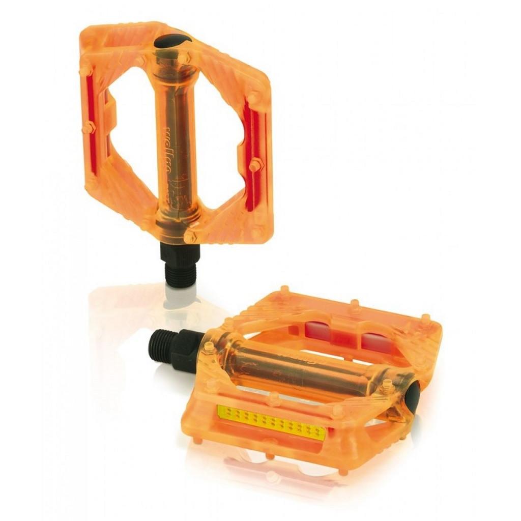 Педали XLC PD-M16, 326 гр, оранжевые (ST)