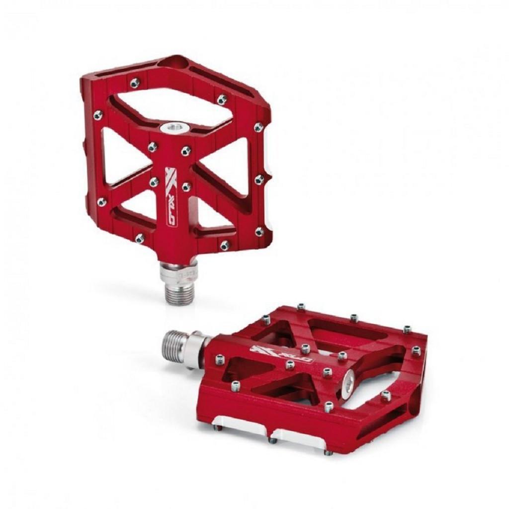 Педали XLC PM-M12, 350 гр, красные (ST)