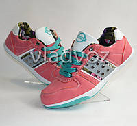 Спортивные туфли кроссовки Badoxx 36р. розовый