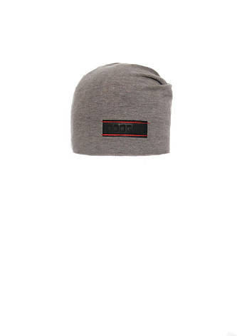Стильная шапочка для мальчика  с заворотом, фото 2