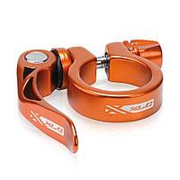 Хомут XLC PC-L04, Ø31,8мм, оранжевый (ST)