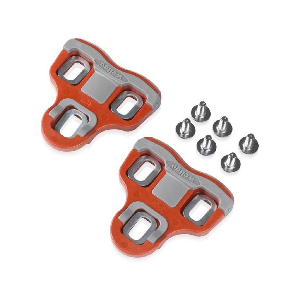 Шипы к педалям XLC PD-X06, 6°, красные (ST)