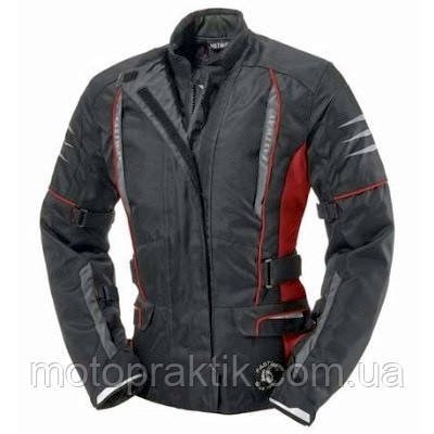 Fastway Touring II Ladies Jacket Black/Red Sz.XS=36 Мотокуртка текстильна жіноча з захистом