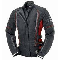 Fastway Touring II Ladies Jacket Black/Red Sz.XS=36 Мотокуртка текстильна жіноча з захистом, фото 1