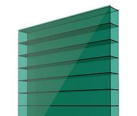 Сотовый поликарбонат 6мм зеленый 2100 х 6000мм