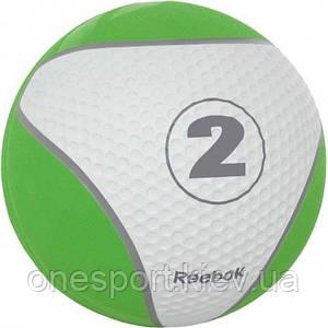 Медбол Reebok RE-21122 2 кг (зеленый) (код 124-1277)