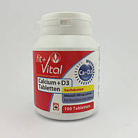 Fit Vital Calcium  D3 Tabletten кальций 100шт