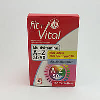 Fit+Vital Multivitamine A-Z plus Lutein    100шт