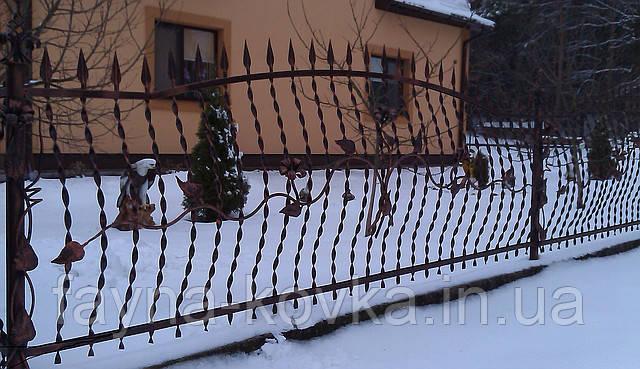 Кованый забор (1190)