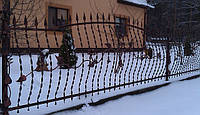 Кованный забор (1190)