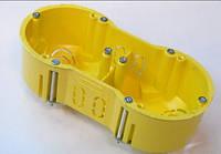 Коробка установочная для гипсокартона 2-кратная, КР 64/2L