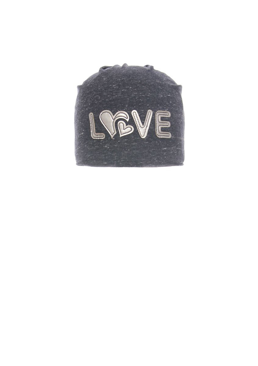 Стильная, практичная шапочка для девочки с заворотом