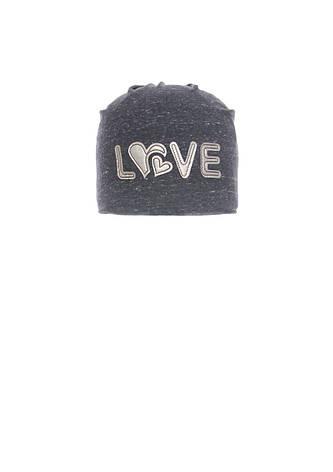 Стильная, практичная шапочка для девочки с заворотом, фото 2