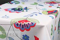 Скатерть тефлоновая     220*155 с ярким абстрактным рисунком