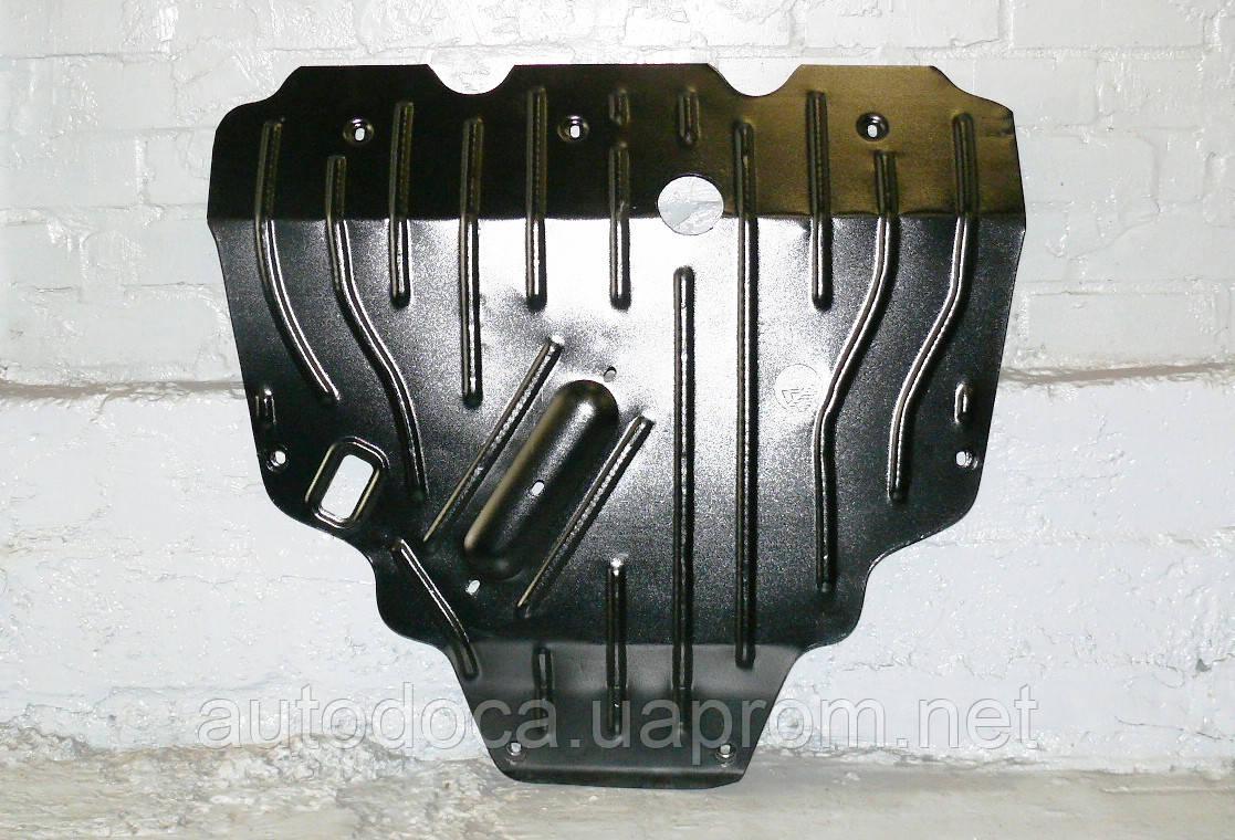 Защита картера двигателя и кппа Toyota Rav4 2005-