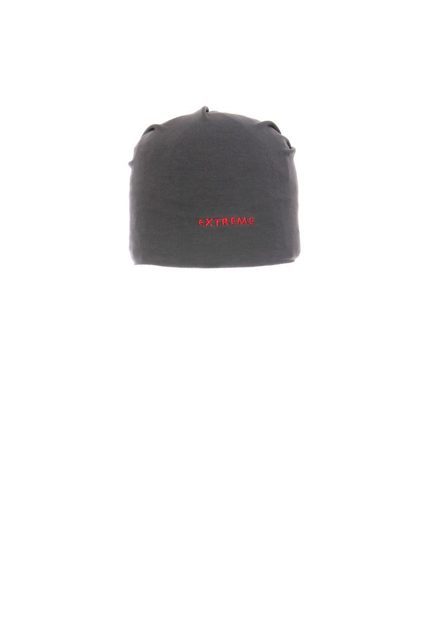 Стильная шапочка для мальчика  с заворотом