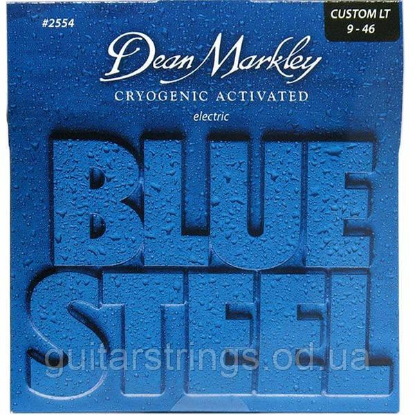 Струны Dean Markley 2554 Blue Steel Custom Light 9-46